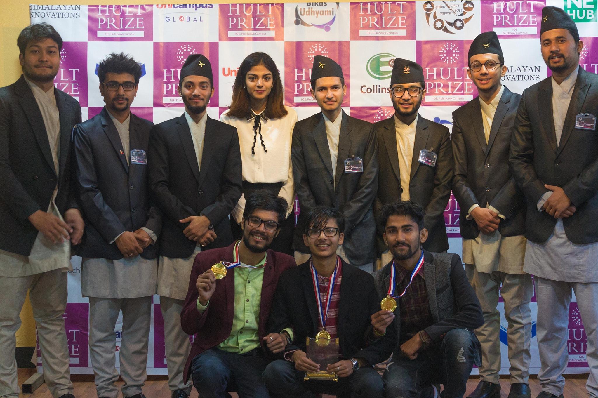 Team Innovation Mind Wins Hult Prize @ IOE Pulchowk Campus 2018